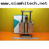 Air Cylinder ยี่ห้อSMC รุ่นMGGLB25-75-HL-H7BL (มือสอง) OGII