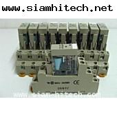 รีเลย์ OMRON G2R-2-SND(s)24vdcพร้อมซ๊อคเกตมือสองเหมือนใหม่ HGI