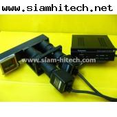 ชุดกล้อง ยี่ห้อPANASONIC มีกล้อง2ตัว พร้อมเลนส์หักเห และกล่องPower Supply มือสอง agii