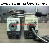 HOYO-SCHOTT MEGALIGHT 50 JCR12V50W20H100 VAC พร้อมสายไฟเบอร์ออฟติต มือสองครบชุดHIII
