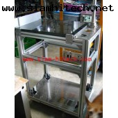 โต๊ะหินแกนนิคยาว60 cm กว้าง40cmสูง80 cm ขาเป็นอลูมิเนียมโปรฟาย MGII