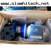 ปั๊มเคมี magnet pump IWAKI mx-403cv5c-6 motor TOSHIBA 3 PH 380V 2.2KW ของใหม่มีจำนวนมาก KHIII