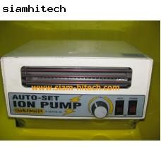 Ion pump Auto-set