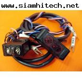 Distance-settable senser omron E3Z-LS61 20-200mm รับส่งในตัว มือสอง AII