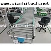 สายพานลำเลียง/ conveyor โลเลอร์ หน้ากว้าง 40 ซ.ม ยาว 6 เมตร เป็นอลูมิเนียมทั้งตัว(สินค้าใหม่) EGIII
