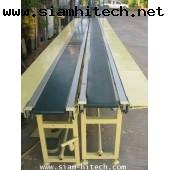 conveyer พร้อมมอเตอร์ครบชุด มอเตอร์ ringcone traction 4 ตัว กว้าง 20 cm ยาว 6 เมตร 220vac KAIII