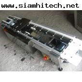 สายพานสแตนเลส ยาว 1 เมตร กว้าง 8 cm ควบคุมด้วยมอเตอร์OM 2 ตัว(มือสอง)