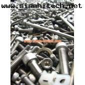 น๊อตสแตนเลส Stainless steel nut.  มือสองขายเป็นกิโล