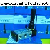 วาล์วมือโยก SDPCและ HLPC 4H210-08 5/2 (ของใหม่ราคาถูก)
