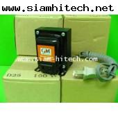 หม้อแปลงไฟฟ้า GM รุ่น D 35 input220vac output110vac100w (สินค้าใหม่ขายปลีกและส่ง) NGI