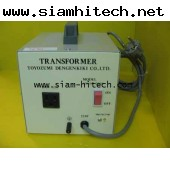 หม้อแปลงไฟฟ้า TOTOZUMI DENGENKIKI รุ่น 39790IN 220 OUT 100V 15Aมือสองสินค้ามีจำนวน HGII