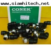 fitting/ข้อต่อลม CONEK รุ่น pl08-02 ข้อต่องอ8 มิล(ของใหม่ราคาถูก)